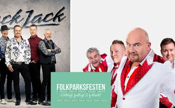Folkparksfesten – Larz-Kristerz & Black Jack